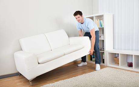 Careful Movement of Furniture